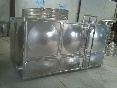 宿迁伟邦方形不锈钢水箱结构图