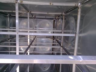 威海不锈钢水箱结构图,不锈钢保温水箱结构介绍