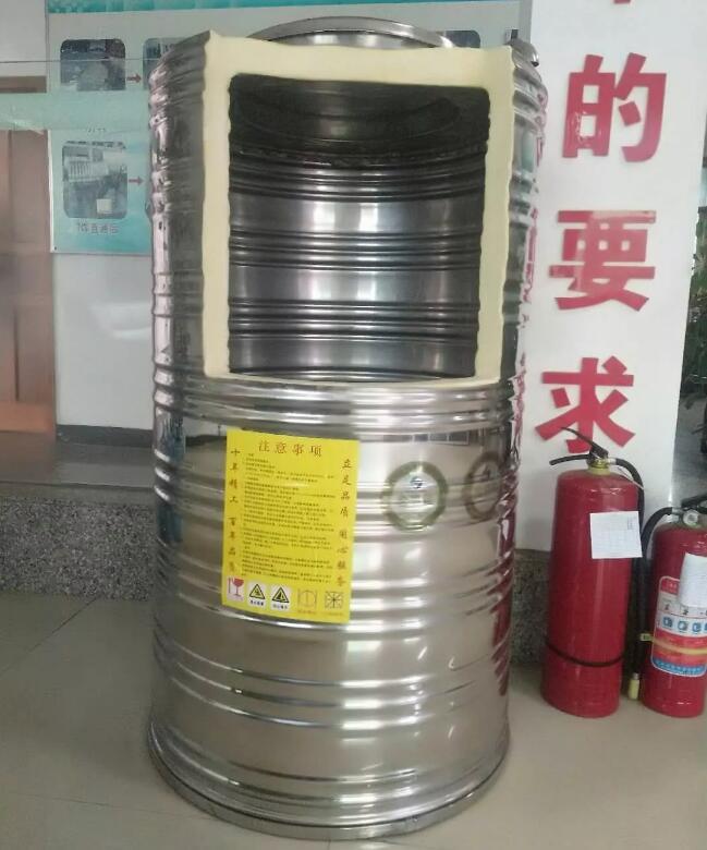立式不锈钢保温水箱结构图